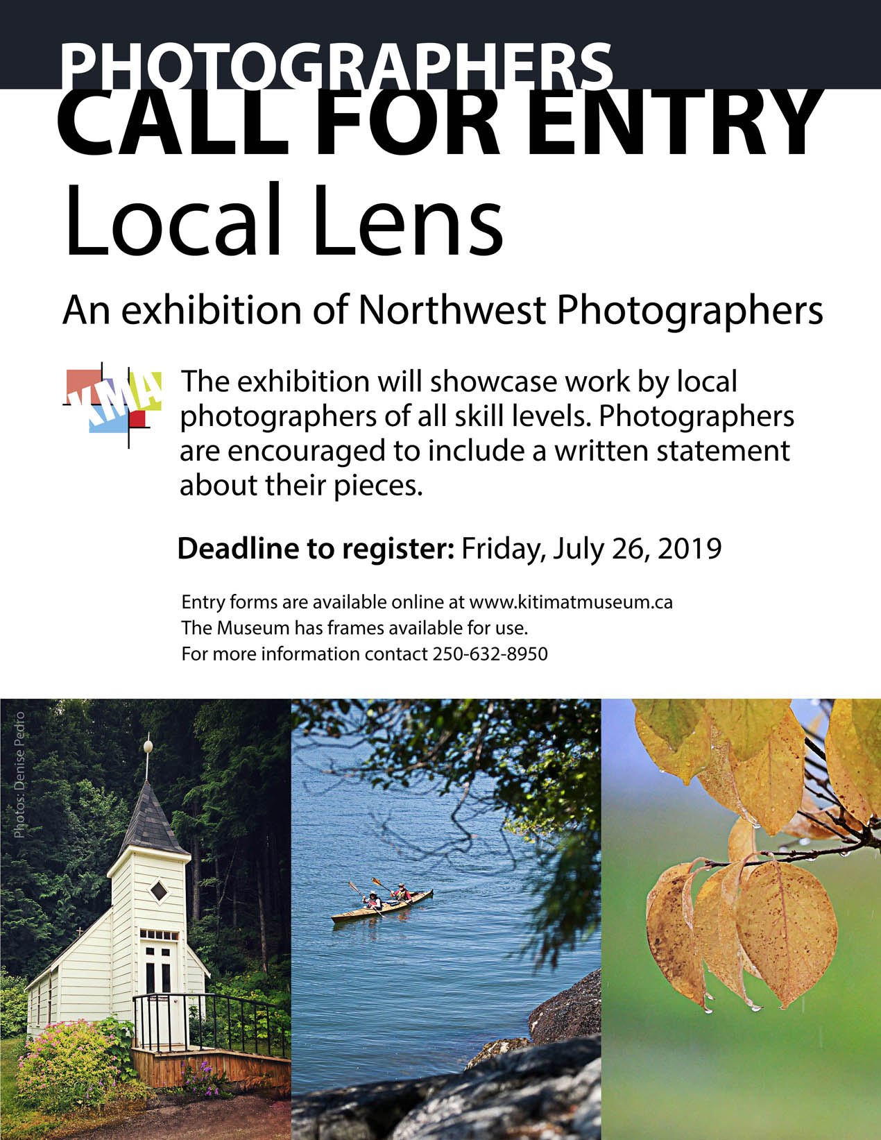Poster describing the photography Call for Entry